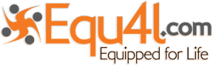 Image of Equ4L.com logo in orange and grey
