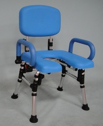 max250 Shower Chair Unfolded High Tech Helpers: Adjustable Shower Chair