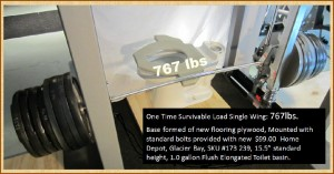 Bariatric toilet seat transfers