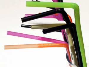 Image of a bunch of Uniflow Straws in many different colours