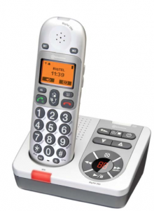 Amplicom BigTel 280 Cordless Telephone  28112 zoom 220x300 Helpful Aids for Hearing Loss
