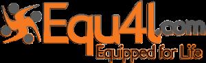 Image of Equ4L.com logo in orange and grey