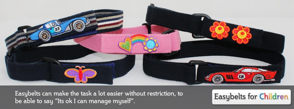 easybelts vecro belts for children