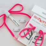 Image of some Greeper laces in a bright neon pink colour