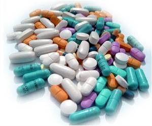 Image of various colours and shapes of tablet/pill.