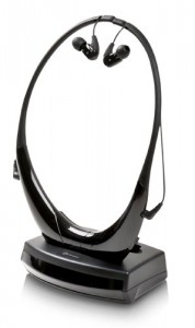 Image of the Amplicomms wireless amplified headphone headset