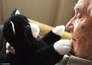 JustoCat provides therapy for people with dementia