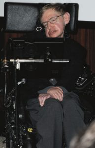 Stephen Hawking and his Speech Synthesiser